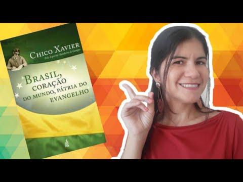 livro-brasil-coração-do-mundo,-pátria-do-evangelho-|-francisco-cândido-xavier-|-resenha