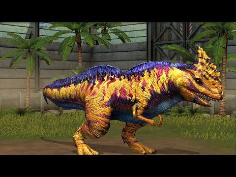 Jurassic World Game Mobile #59: Đột biến khủng long RAJASTEGA MAX cấp