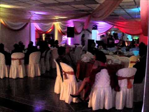 Decoracion en luces led de salon esteban producciones youtube - Luces led para salon ...