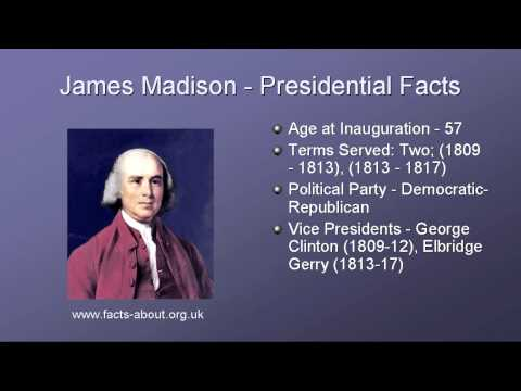 President James Madison Biography