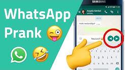 WhatsApp Prank - Tricks für witzige WhatsApp Chats 😂