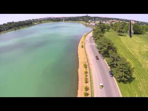 Aerial View of Lake Montebello