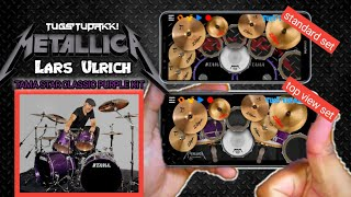 Metallica - Lars Ulrich | Tama Star Classic Drum Kit On Real Drum App