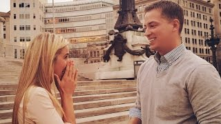 How I proposed to my girlfriend! (Tear jerker)
