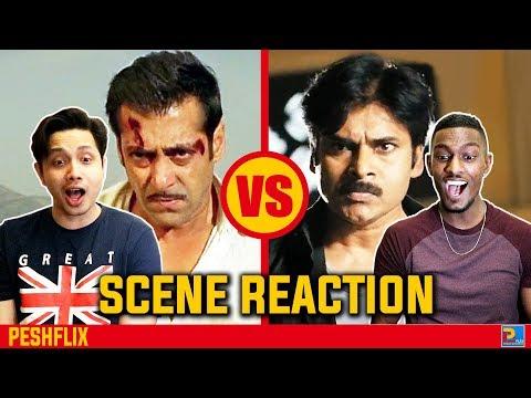 Dabangg vs Gabbar Singh | Climax Scene Reaction | Salman Khan vs Pawan Kalyan | PESHFlix Ent