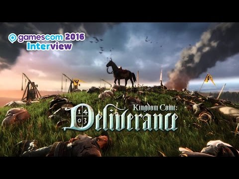 Kingdom Come: Deliverance - gamescom 2016-Interview