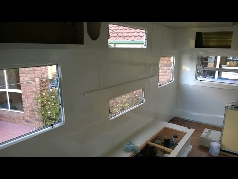 Millard Caravan Part 3: Wall and Cupboards Renovation