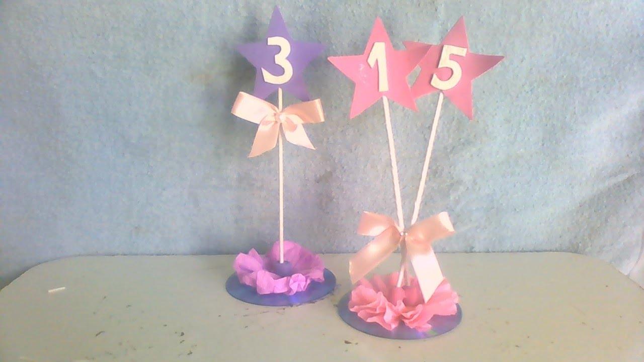 Decoração Com Cd ~ Centro de mesa 15 anos com cd,decoraç u00e3o infantil com cd, lembrancinha com cd #artesanato YouTube