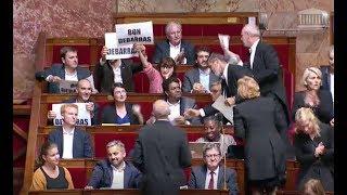 A l'Assemblée, la macronie acclame Valls et hue Ruffin, les insoumis expriment leur indignation...