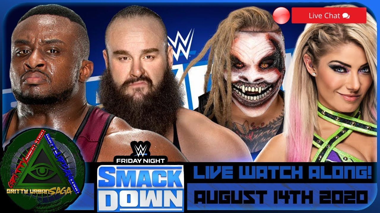 Download 🔷WWE SMACKDOWN Live Stream Watch Along ! August 14 2020 Reactions & Review
