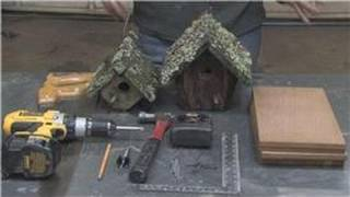 Home Improvement Projects & Tools : How To Build A Birdhouse