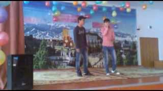 Копия видео ШYNGYS a.k.a Feat Le-X (Для Тебя) концерт в 64 школе