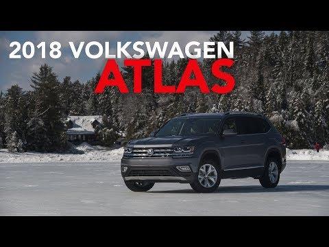 2018 VOLKSWAGEN ATLAS V-6 FIRST TEST REVIEW