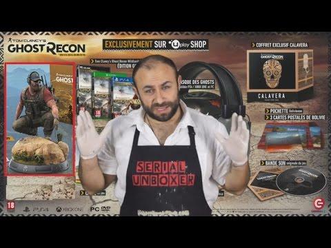 [UNBOXING] Ghost Recon Wildlands - Edition Collector Calavera EU & USA Gamestop  -  FR