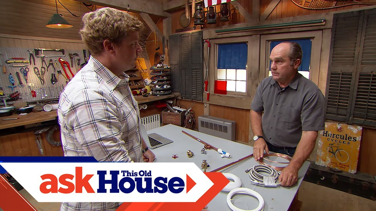 How To Connect An Ice Maker This Old House Youtube