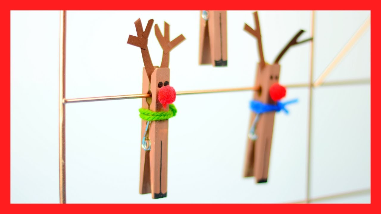 Christian Christmas Crafts.Clothespin Reindeer Craft Fun Christmas Craft For Kids