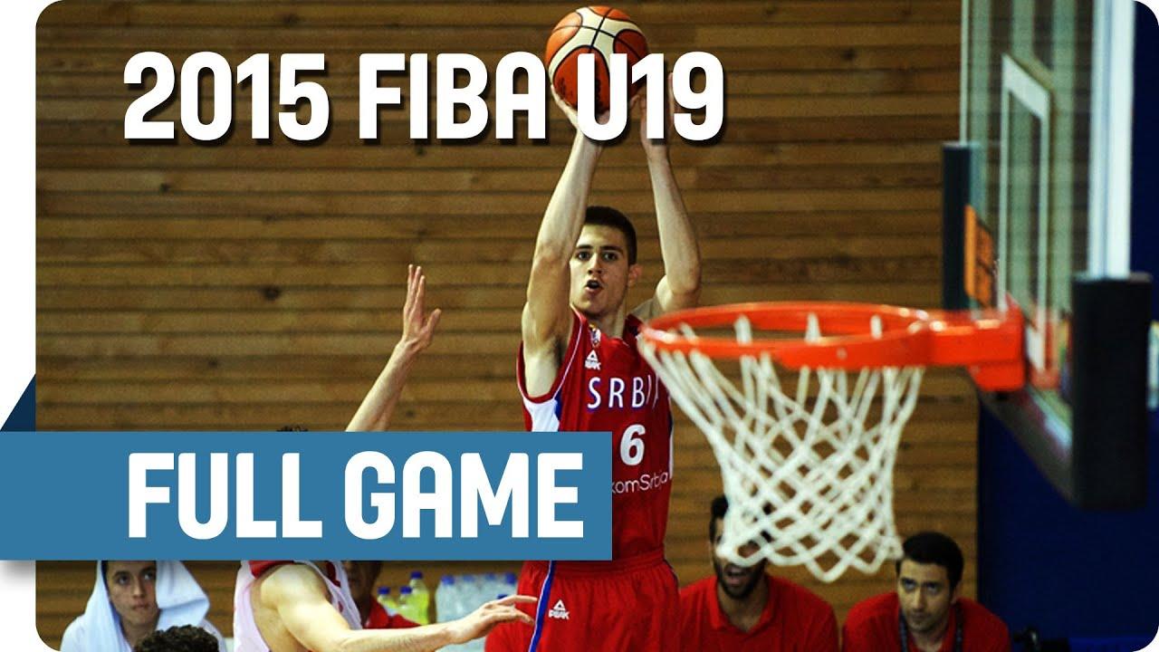 Korea v Serbia - Classification 9-12 - Full Game - 2015 FIBA U19 World Championship