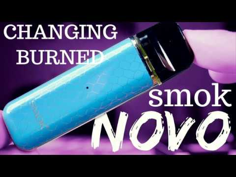 Novo Smok CHANGING BURNED COTTON