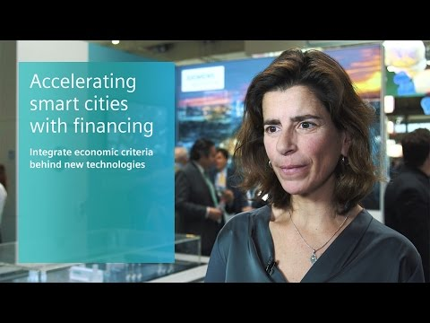 Siemens at Smart City Expo World Congress 2016 - Interview Maria Jose Perea Marquez
