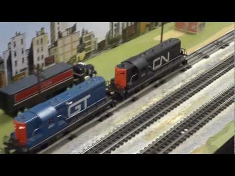 Train Layouts at The Kitchener Model Train Show November 2012