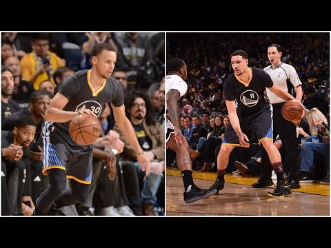 Stephen Curry 27 Pts & Klay Thompson 24 Pts to Defeat Brooklyn | 02.25.17