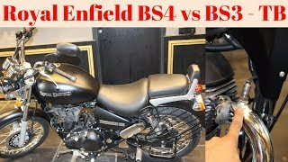 Royal Enfield Thunderbird BS4 | Difference in BS3 and BS4 | Part-2 | AHO | Engine | Silencer | Vlog