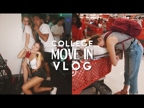 COLLEGE MOVE IN VLOG | FRESHMAN YEAR @ NORTHEASTERN UNIVERSITY