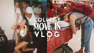 COLLEGE MOVE IN VLOG | FRESHMAN YEAR