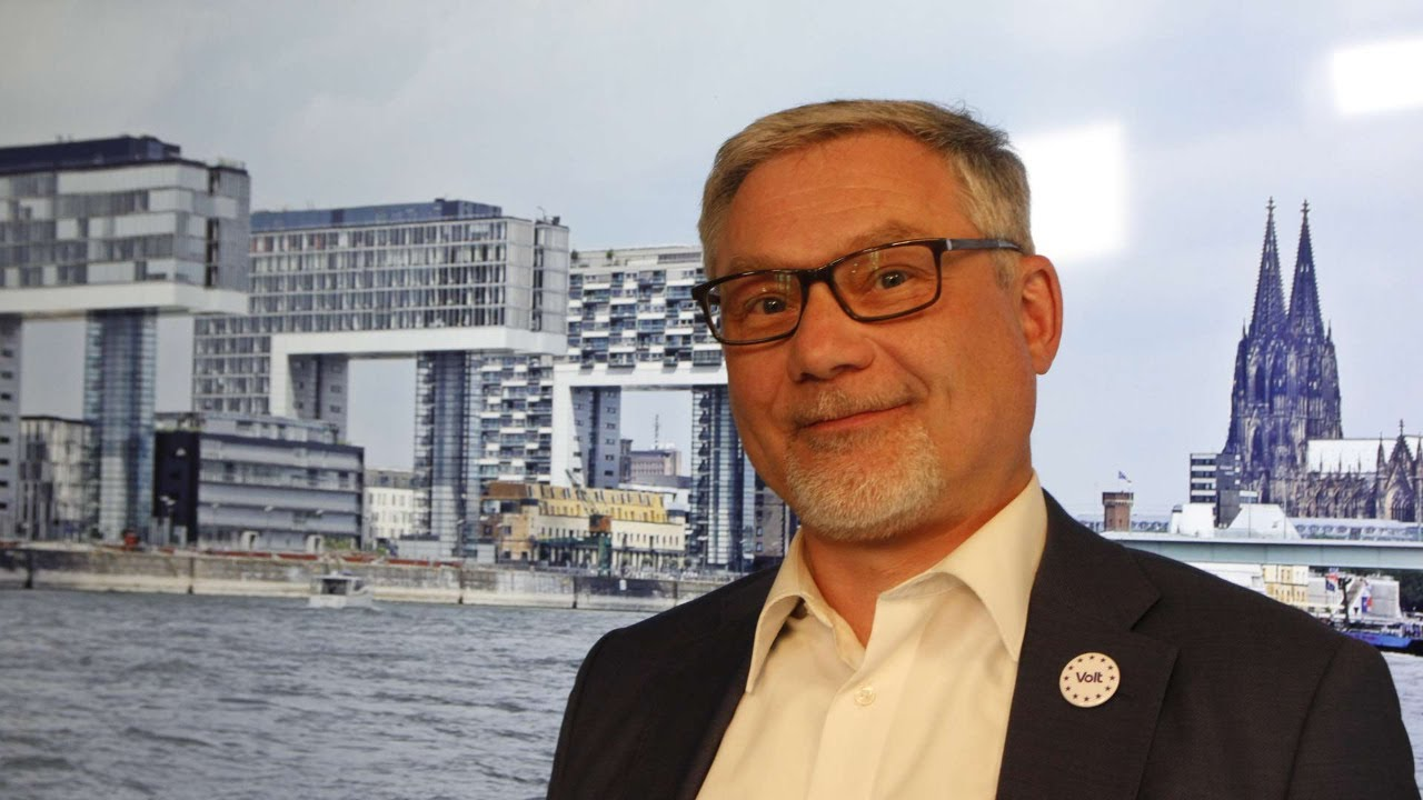 YouTube: Kommunalwahl 2020: Olivier Fuchs OB-Kandidat Volt