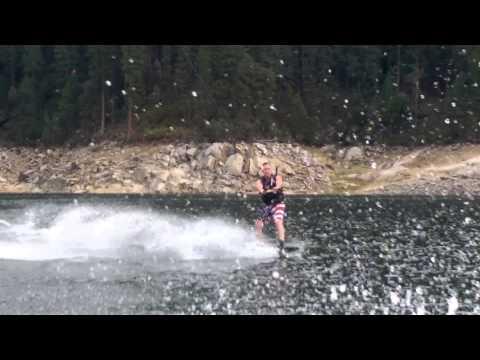 Wakeboarding on Byerly Monarch 54