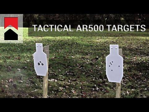 Tactical AR500 Targets