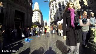 Уличное ТАНГО в Буэнос-Айресе.
