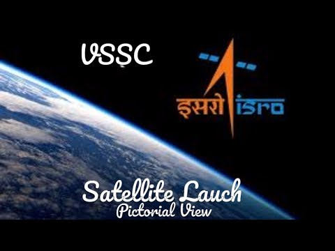 ISRO Satellite Launch Explanation - Graphical & Pictorial View - Signal Indication