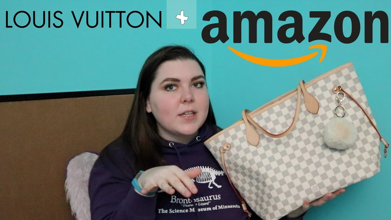 fc9a1dbe68a6ca buying fake Louis Vuitton on Amazon *does it work* - YouTube