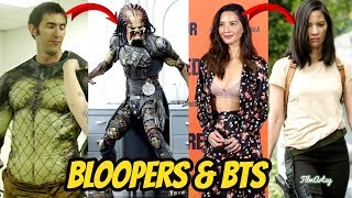 The Predator(2018) Behind the Scenes, Bloopers, & B-Roll   Olivia Munn 2018