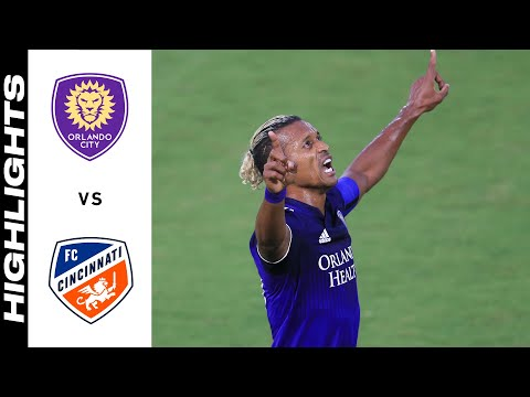 Orlando City Cincinnati Goals And Highlights