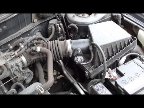 Nissan MAF Fault P0100 Diagnose & Reset Engine Light Autel ... on