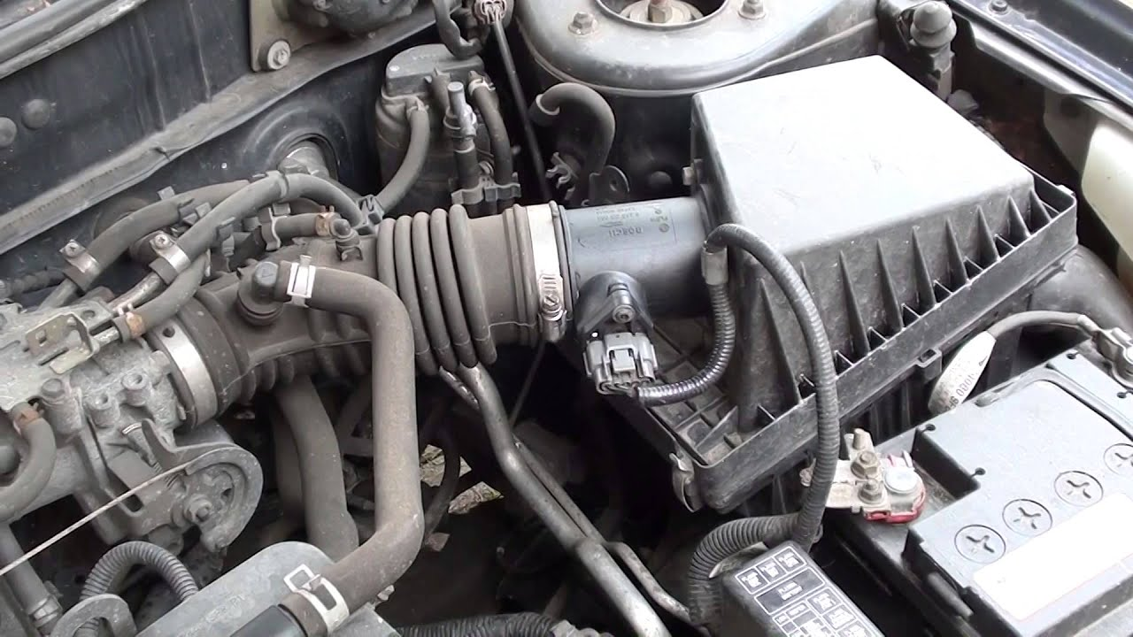 Nissan MAF Fault P0100 Diagnose & Reset Engine Light Autel