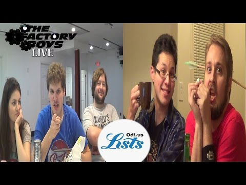 Odious Lists (Factory Boys Live S5 Ep. 1)