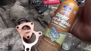 Медный спрей, Copper Spray A Gasket Hi Temp Sealant