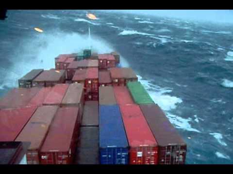 High Waves on Atlantic Ocean