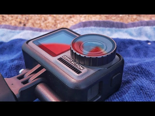 DJI Osmo Action UNDERWATER Test! [4K]