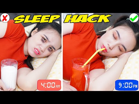15 PROVEN SLEEP TIPS & LIFE HACKS | How to Fall Asleep Faster and Have a Better Sleep by T-FUN
