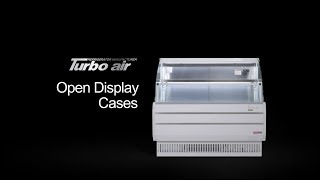 Turbo Air 터보에어 2018 Open Display Cases HD 2018 06 11