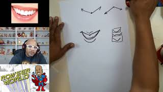 How To Draw Caricatures | Mouths