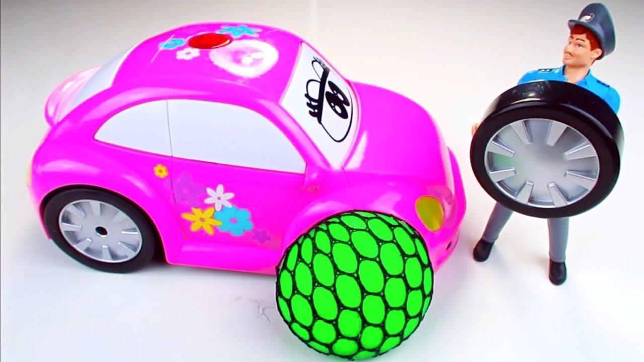 Belajar Warna Dalam Bahasa Inggris Untuk Anak Anak - Mainan Mobil Untuk Anak Anak