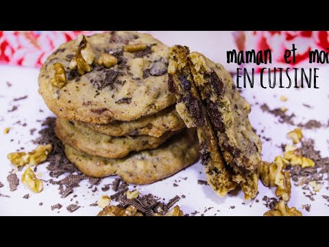 recette-de-cookies-américain-inratable-!!!-وصفة-الكوكيز-الأمريكي-ناجحة-100/100