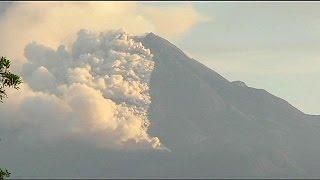 Vulkane in Mexiko aktiv