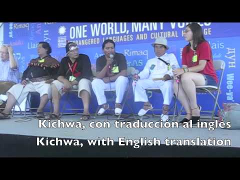 Kichwa, Spanish, and English