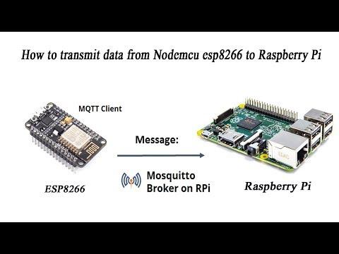 ESP8266 Transmit Data to Raspberry Pi Use MQTT Server - Thủ